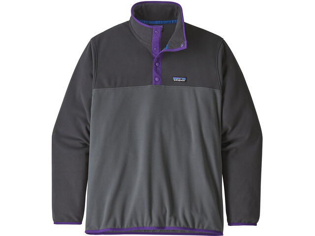 Patagonia Micro D Snap-T Pullover Herre forge grey